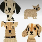 July 6 – Recycled Collage Dogs